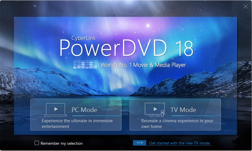PowerDVD Ultra Screenshot