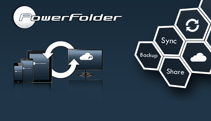 PowerFolder Cloud Screenshot