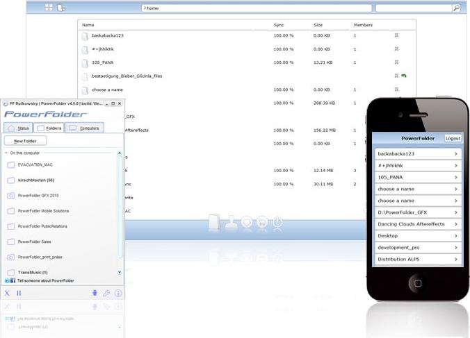 PowerFolder Server Starter Screenshot