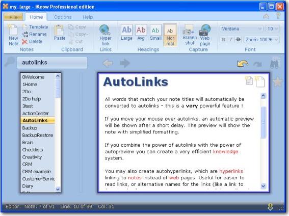 PpcSoft iKnow 2010 Screenshot