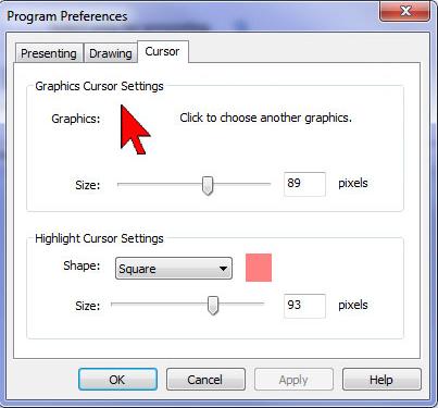 Presentation Screen Master, Business & Finance Software Screenshot