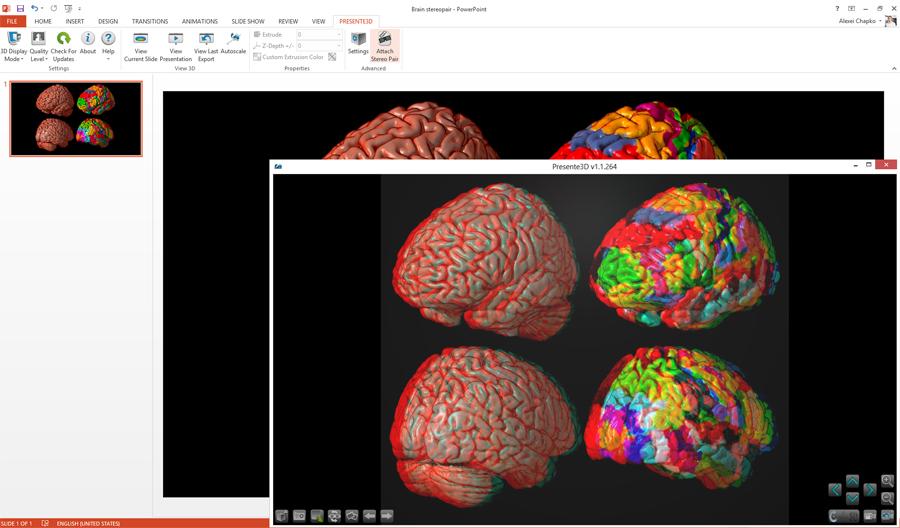 Business & Finance Software, Presente3D Screenshot