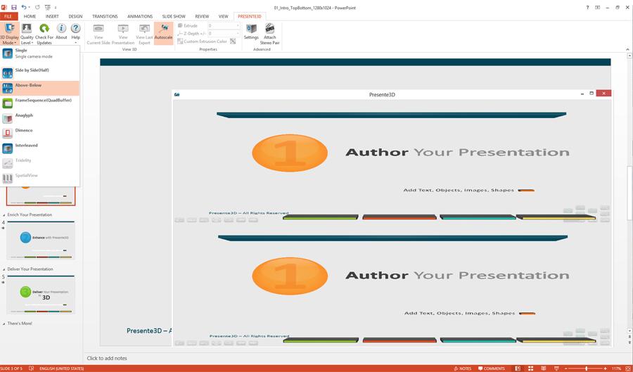 Presente3D, Business & Finance Software Screenshot