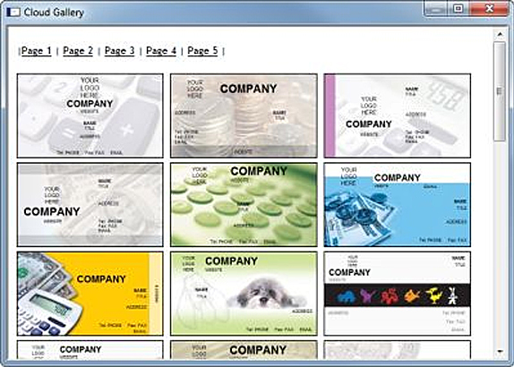 Print Designer GOLD, Graphic Design Software Screenshot