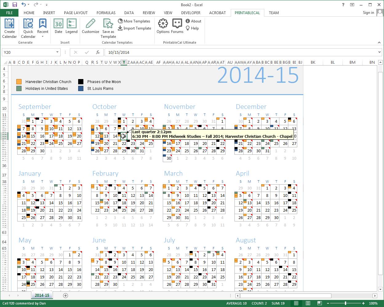 Business & Finance Software, Excel Add-ins Software Screenshot