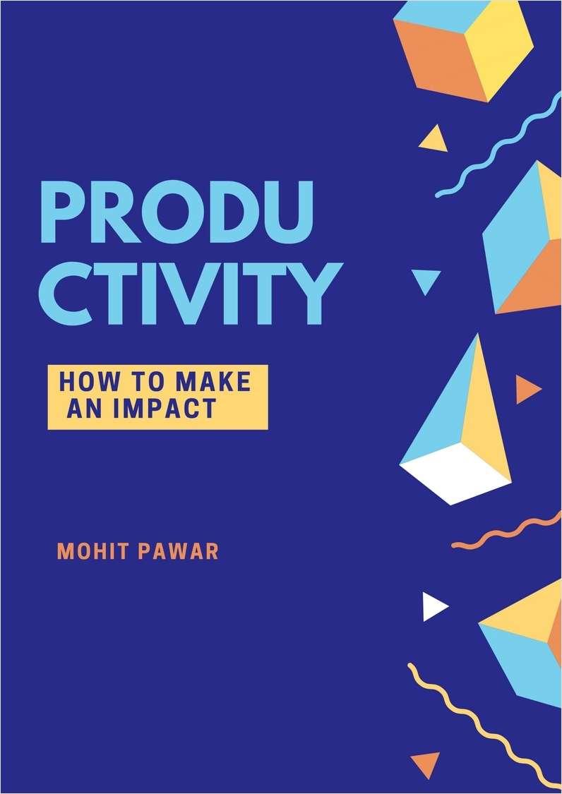 Productivity - How To Make an Impact Screenshot
