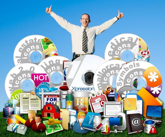 Professional Icon Collection Bundle Screenshot