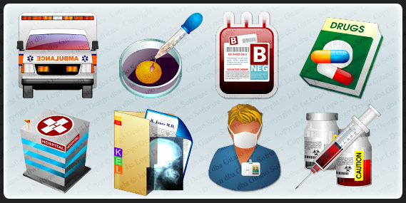 Professional Icon Collection Bundle, Icons Software Screenshot