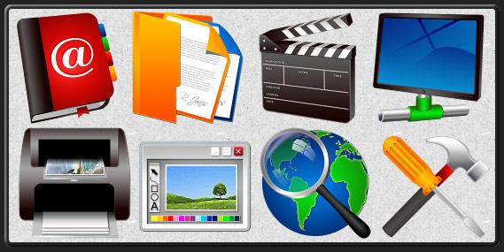 Icons Software Screenshot