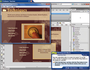 Professor Teaches Flash Professional CS5 Screenshot