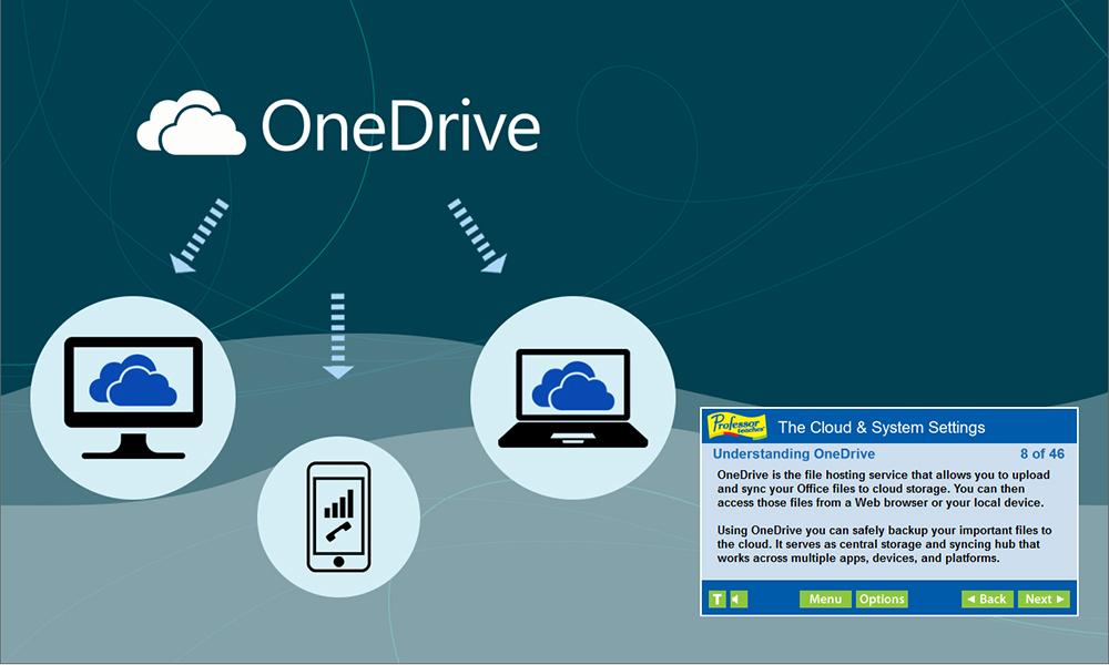 Professor Teaches Web Library, Business & Finance Software, Microsoft Office Software Screenshot