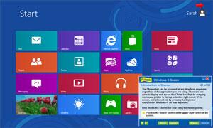 Professor Teaches Windows 8.1 Tutorial Set Downloads Screenshot