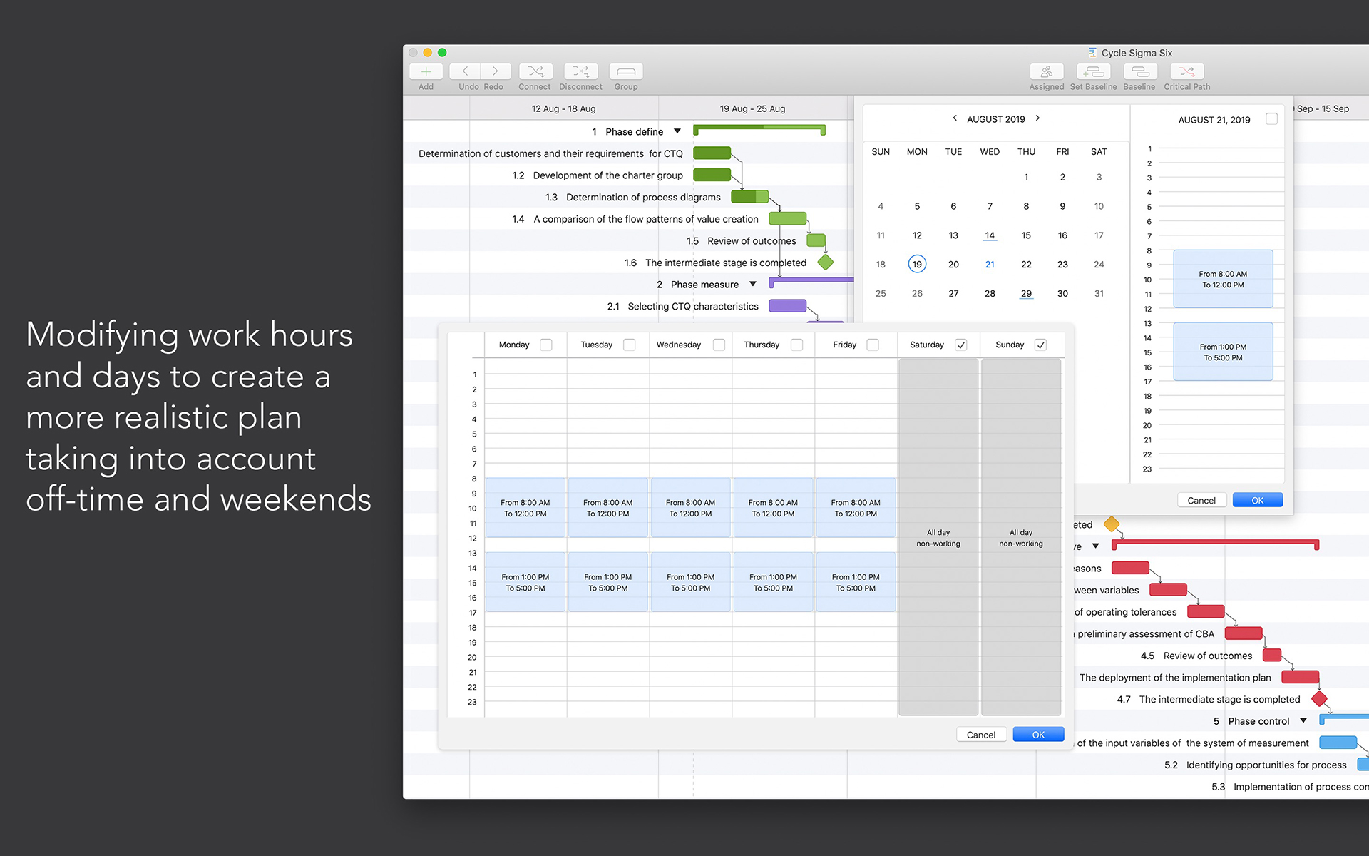 Project Office: Gantt chart Screenshot 8