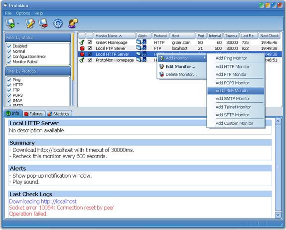 ProtoMon Screenshot