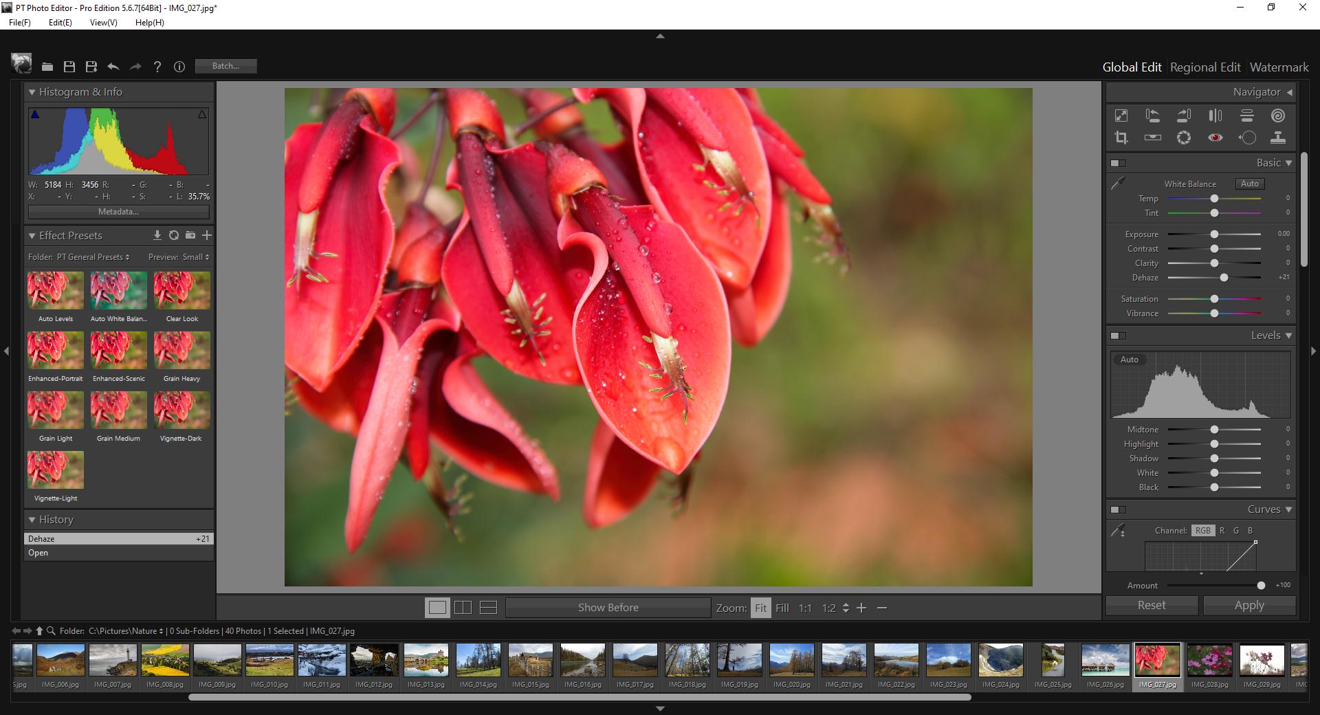 PT Photo Editor Screenshot