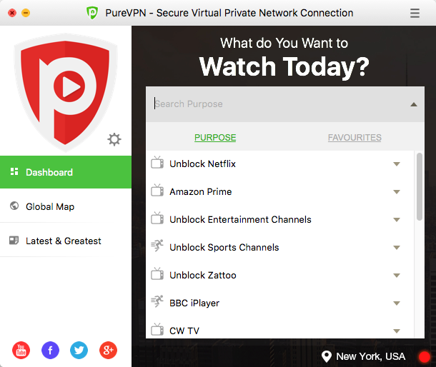 PureVPN Screenshot 11
