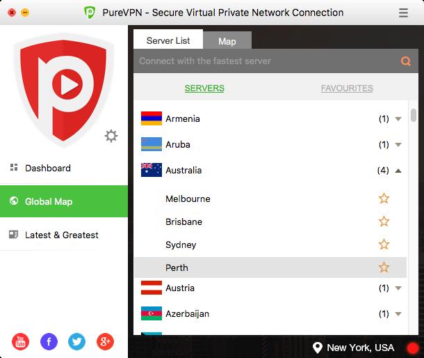 PureVPN Screenshot 12