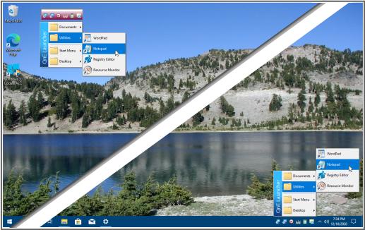 QnE Companion, Desktop Customization Software Screenshot