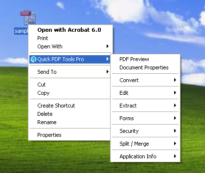 Quick PDF Tools Pro Screenshot