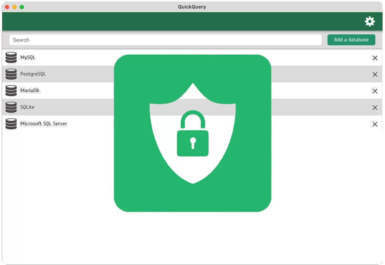 QuickQuery Lifetime License, Database Management Software Screenshot