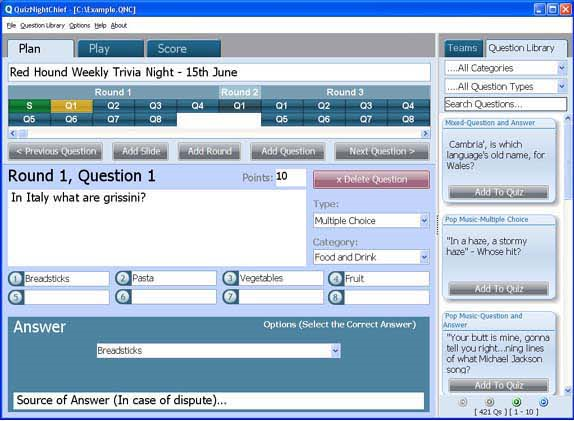 QuizNightChief Screenshot