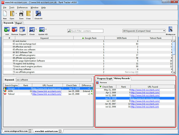 Development Software, SEO / Keyword Software Screenshot