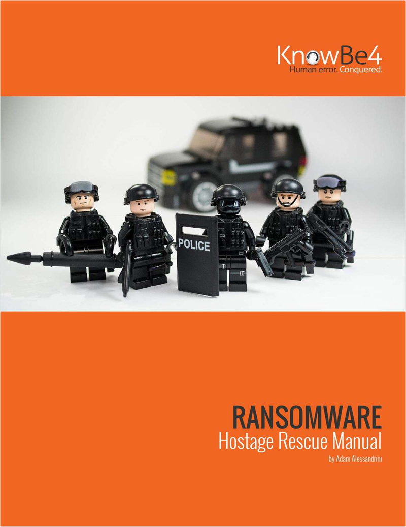 Ransomware Hostage Rescue Manual for IT Pros Screenshot