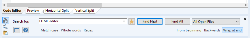 Rapid CSS 2020, Code Editor Software Screenshot