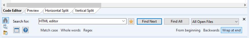 HTML Editor Software, Rapid PHP 2020 Screenshot