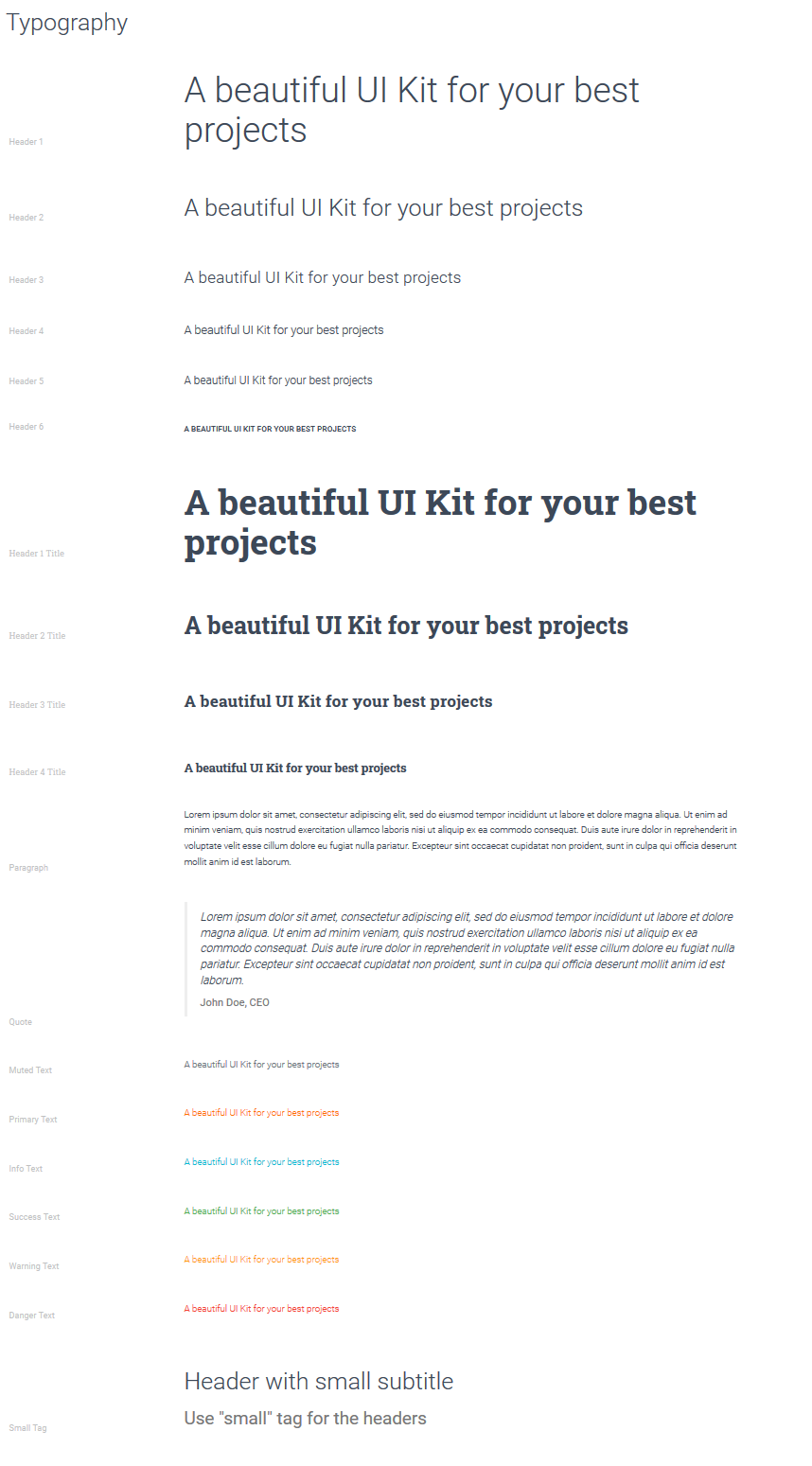 Real Material UI Kit Screenshot 9