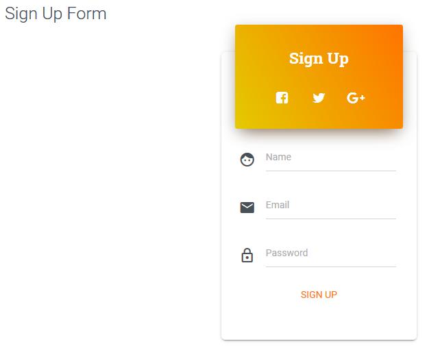Real Material UI Kit, Development Software, Website Builder Software Screenshot