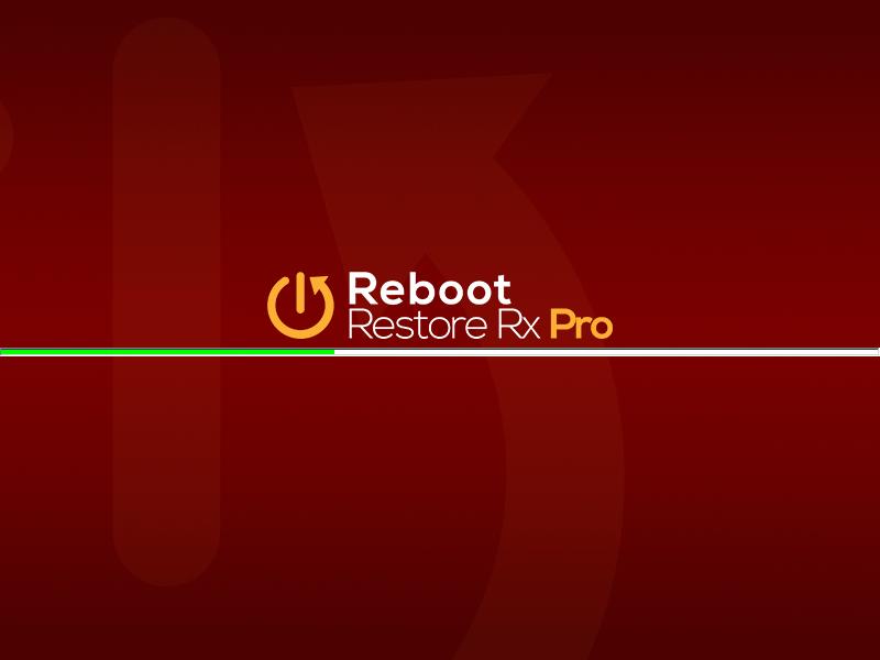Reboot Restore Rx Pro Screenshot