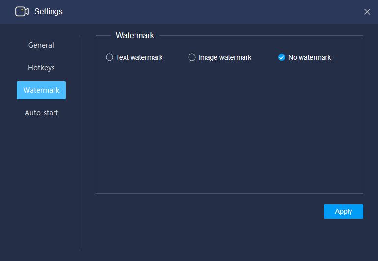 RecMaster - Screen Recorder (1 Year License), Video Software Screenshot