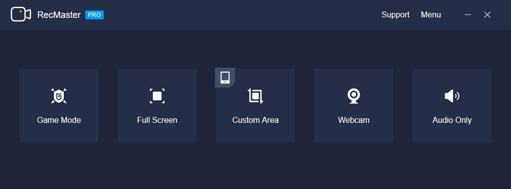 RecMaster - Screen Recorder (1 Year License) Screenshot