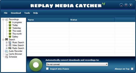 Replay Media Catcher Screenshot