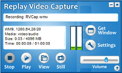 Video Capture Software Screenshot