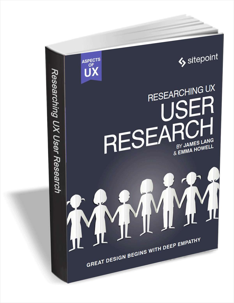 Researching UX - User Research ($29 Value FREE For a Limited Time) Screenshot