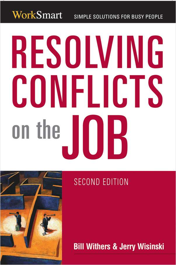 Resolving Conflicts on the Job (Valued at $12.95) Screenshot