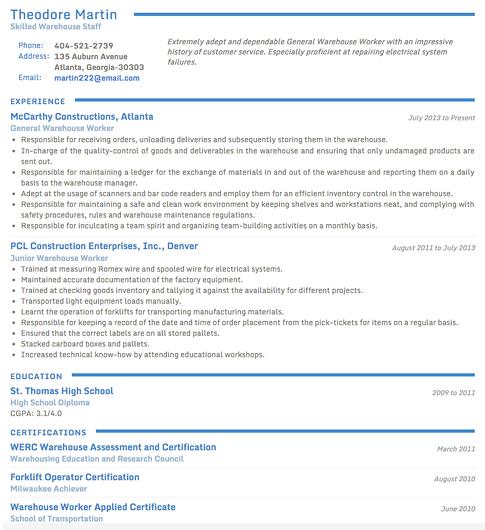 Job Search & Business Card Software Screenshot