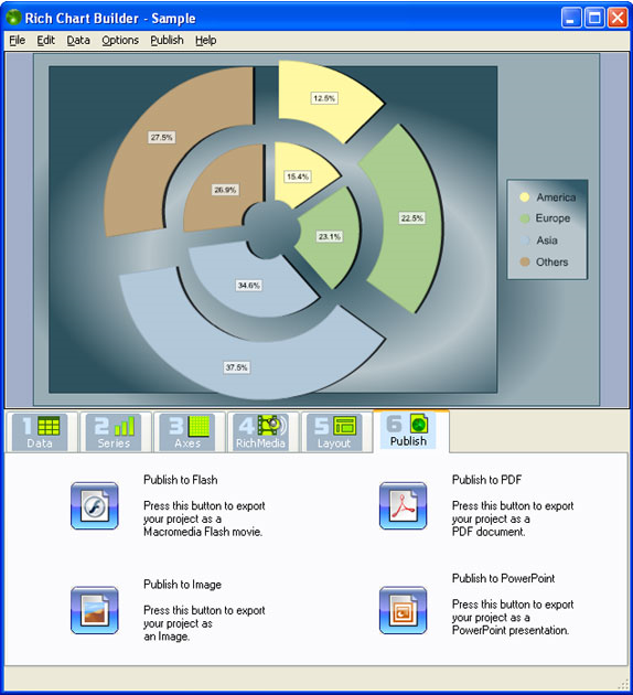 Rich Chart Builder, Business & Finance Software, Microsoft Office Software Screenshot