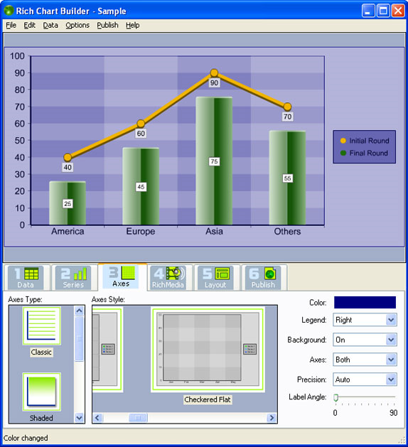 Rich Chart Builder, Business & Finance Software Screenshot