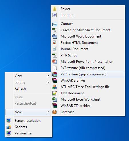 Desktop Customization Software, Right Click Enhancer Professional Screenshot