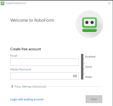 RoboForm Everywhere Screenshot