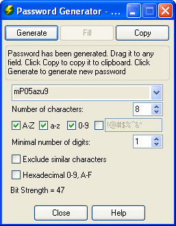 RoboForm Pro, Security Software Screenshot