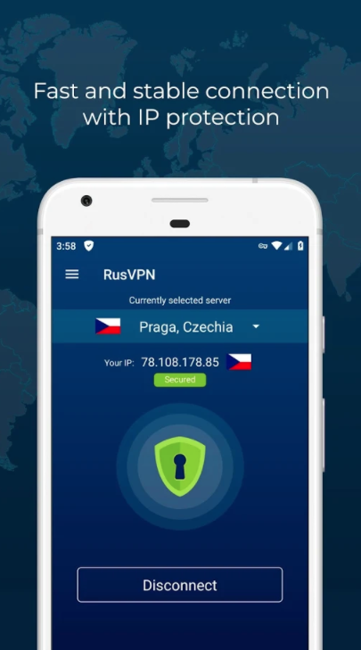 RUSVPN Screenshot