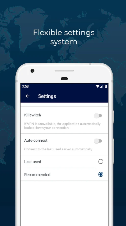 RUSVPN, Security Software Screenshot
