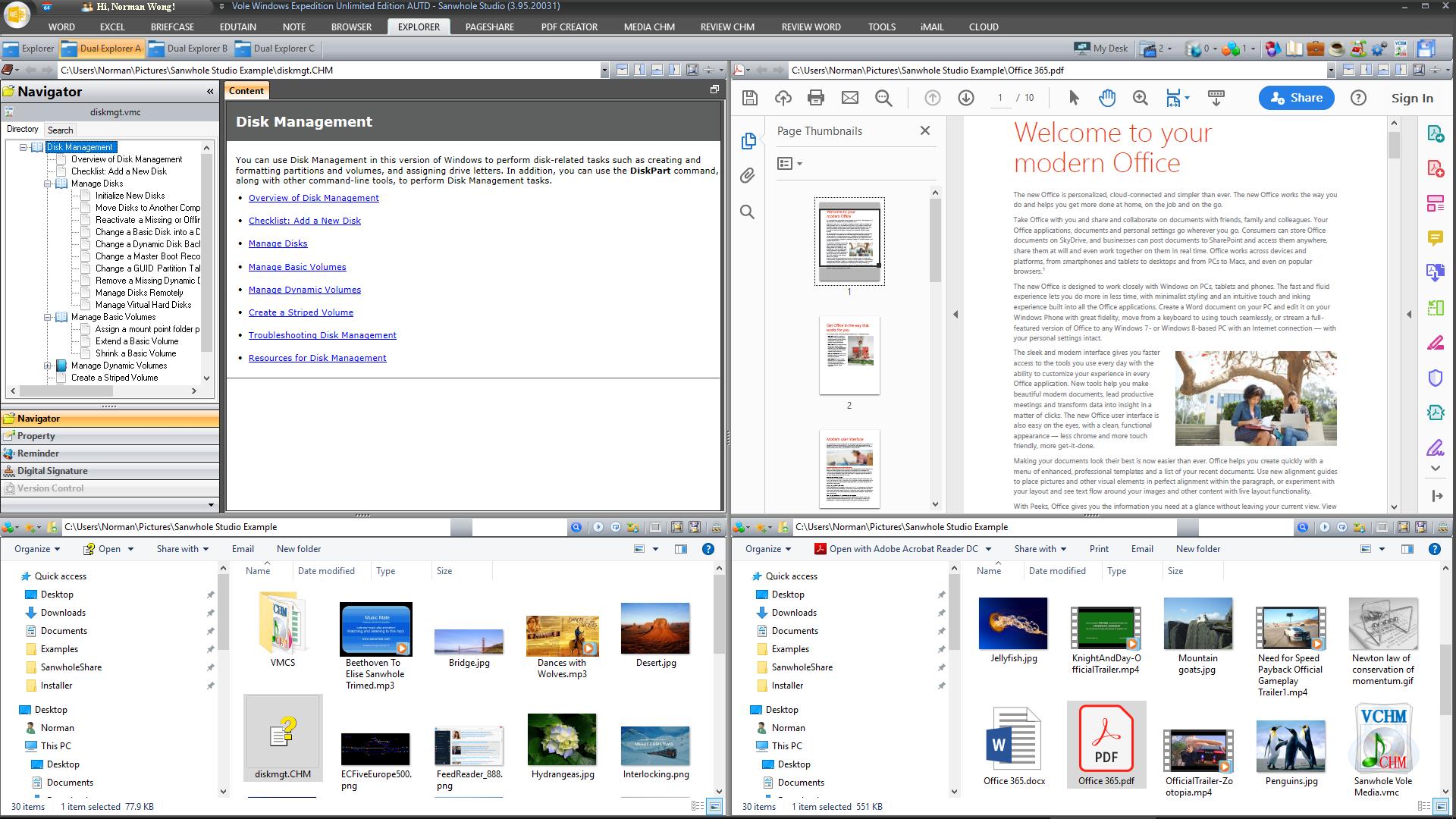 Sanwhole Office Ultimate Edition Screenshot 15