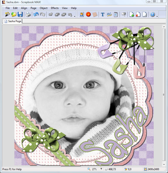 Scrapbook MAX! 2.0, Misc & Fun Graphics Software Screenshot