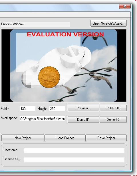Scratch and Win Website Game Creator, Games Software Screenshot