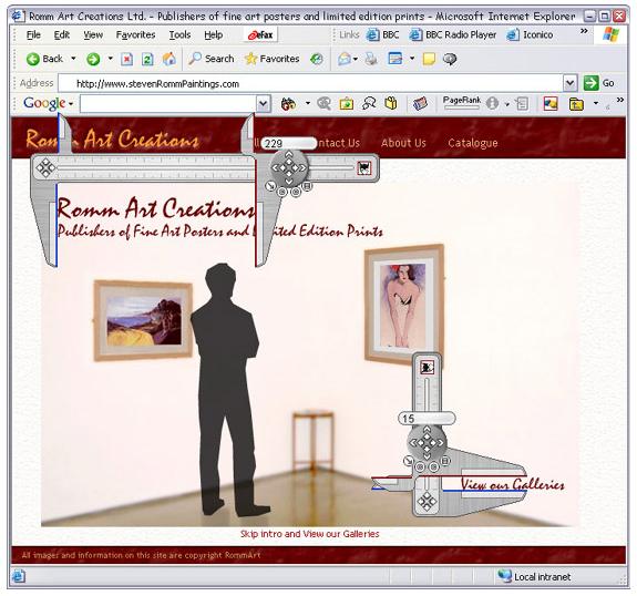 Screen Calipers, Measurement Software Screenshot